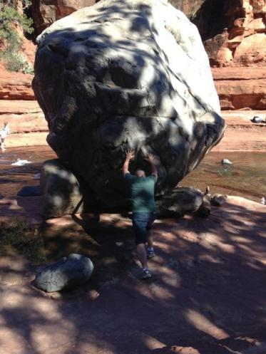 Hiking Arizona. Sedona. Old Man Hiking. Rusty Ward