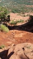 Bell Rock. Desert Hiking in Sedona, Arizona.