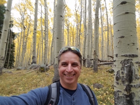 Fall Hiking in Lockett Meadow, Flagstaff, Arizona by Rusty Ward