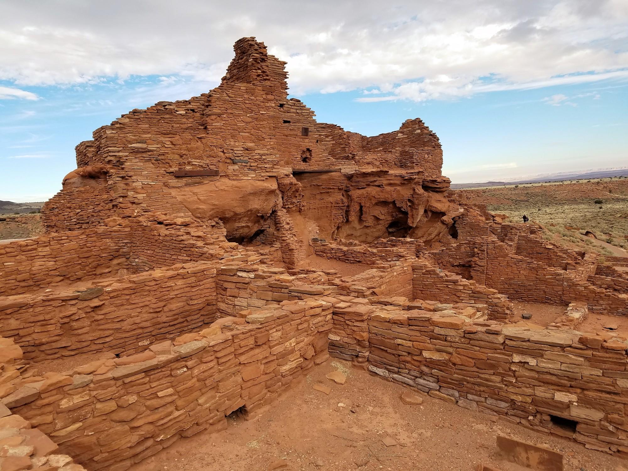 Hiking Wupatki Ruins in Flagstaff, Arizona