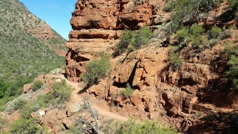 Hiking in Sedona #arizona #desert