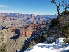 Grand Canyon, Arizona Winter in the Snow