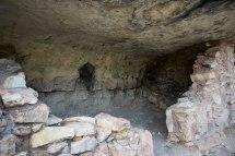 Walnut Canyon Native American Ruins. Hiking Arizona