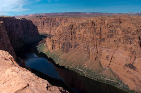 Colorado River, Page Arizona. Hiking