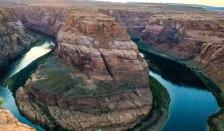 Horseshoe Bend. Hiking in Arizona. Page. Colorado River