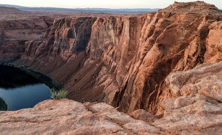 Horseshoe Bend. Hiking in Arizona. Page. Colorado River
