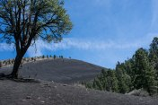 Sunset Crater. Hiking Arizona. Flagstaff
