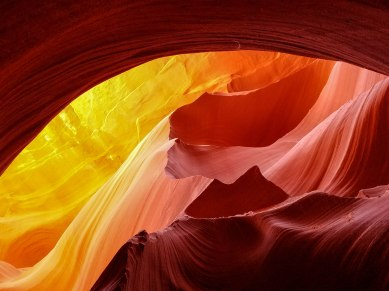 Lower Antelope Canyon Bright