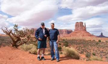 Monument Valley Miscellaneous Dad & Old Man Hiking