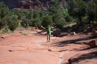 Sedona Courthouse Butte Trail 29