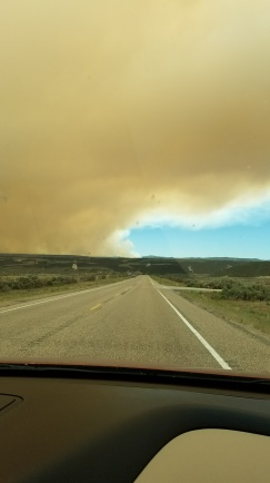 Smokey Bryce Canyon Wildfire
