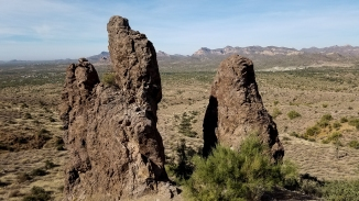 Lost Dutchman State Park Hiking Arizona Rusty Ward