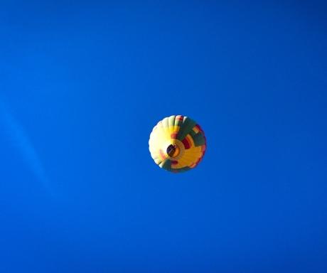 Hot air Balloon Rusty Ward.